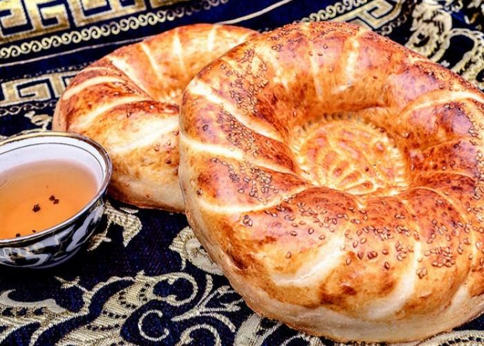 Лепешка узбекская