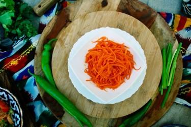 Салат «Морковь по-Восточному»