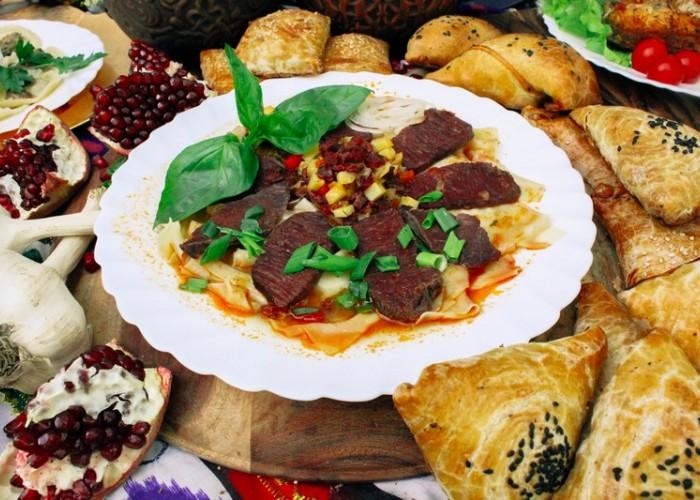 Бешбармак по-узбекски Шилпилдак
